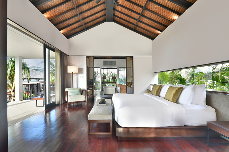Bedroom with Wooden Floor - Alta Vista - North Bali, Bali