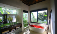 Romantic Bathtub Set Up - Alta Vista - North Bali, Bali