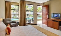 Bedroom with Pool View - Amadea Villas - Seminyak, Bali