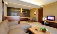 Lounge Area with TV - Amadea Villas - Seminyak, Bali