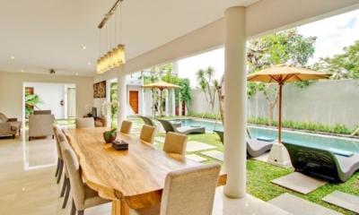 Pool Side Dining - Amadea Villas - Seminyak, Bali
