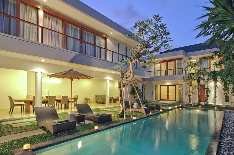 Pool at Night - Amadea Villas - Seminyak, Bali
