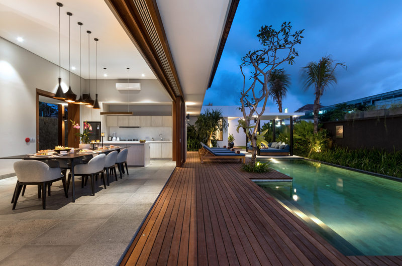 Pool Side Kitchen and Dining Area - Amarin Seminyak - Seminyak, Bali