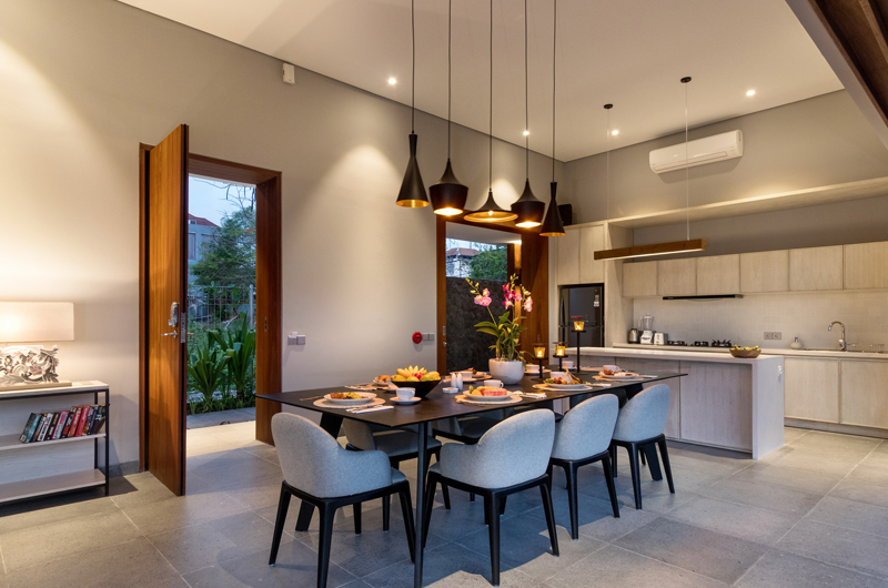Kitchen and Dining Area - Amarin Seminyak - Seminyak, Bali