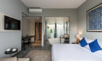 Bedroom with Study Area and TV - Amarin Seminyak - Seminyak, Bali