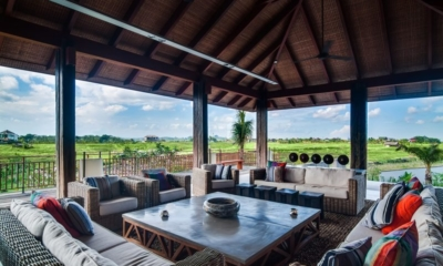 Family Area with Outdoor View - Ambalama Villa - Seseh, Bali