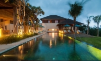 Pool at Night - Ambalama Villa - Seseh, Bali