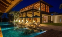 Night View - Ambalama Villa - Seseh, Bali
