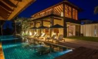 Night View - Ambalama Villa - Seseh, Bali