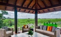 Lounge Area with Outdoor View - Ambalama Villa - Seseh, Bali
