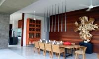 Indoor Dining Area - Ambalama Villa - Seseh, Bali
