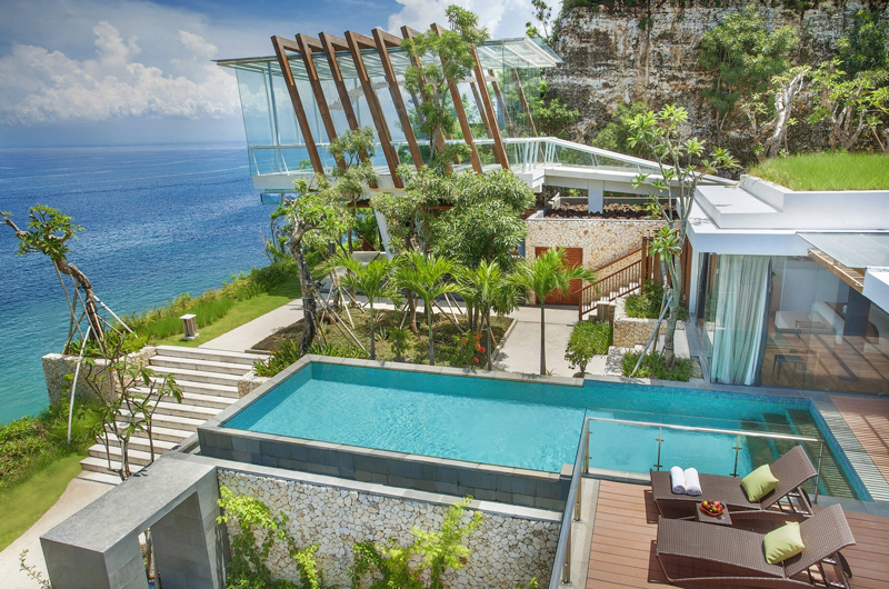 Gardens and Pool - Anantara Uluwatu Resort - Uluwatu, Bali
