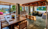 Living and Dining Area with Sea View - Anantara Uluwatu Resort - Uluwatu, Bali