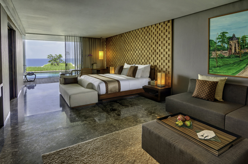 Bedroom with Pool View - Anantara Uluwatu Resort - Uluwatu, Bali