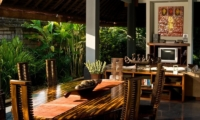Outdoor Dining - Anyar Estate - Umalas, Bali