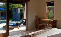 Bedroom with Pool View - Anyar Estate - Umalas, Bali