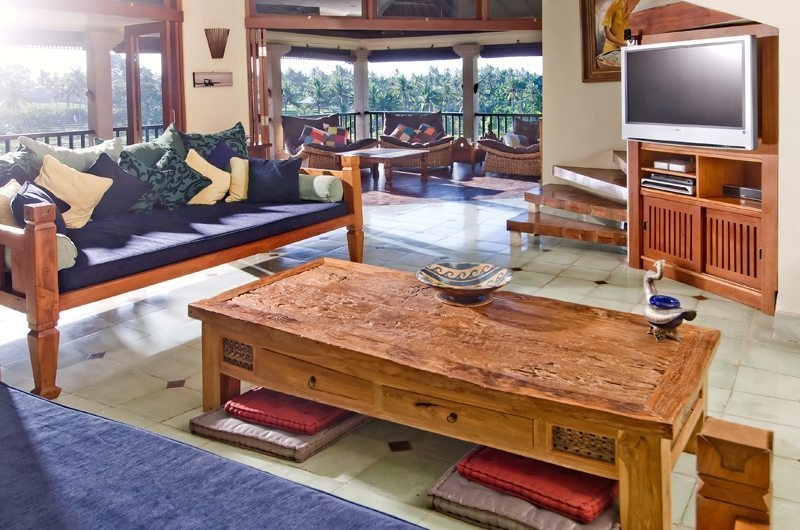 Living Area with TV - Anyar Estate - Umalas, Bali