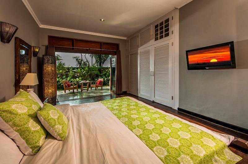 Bedroom and Balcony - Anyar Estate - Umalas, Bali
