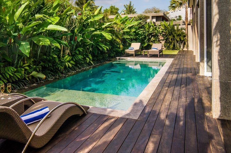 Pool Side - Aramanis Villas - Seminyak, Bali