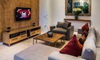 TV Room - Aramanis Villas - Seminyak, Bali