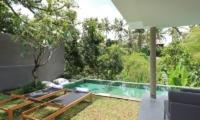 Reclining Sun Loungers - Aria Villas - Ubud, Bali