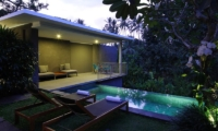 Night View - Aria Villas - Ubud, Bali
