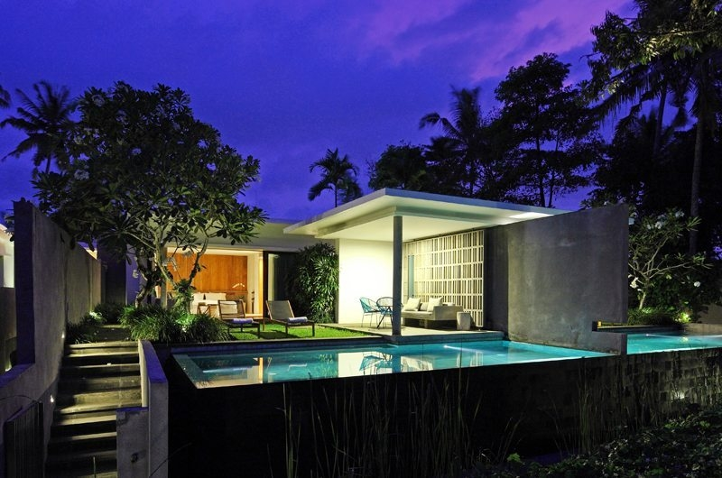 Pool at Night - Aria Villas - Ubud, Bali