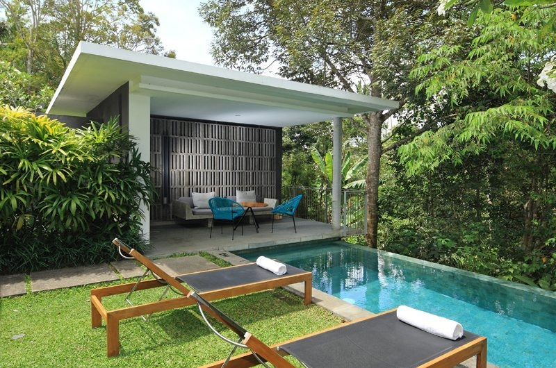Pool Side - Aria Villas - Ubud, Bali
