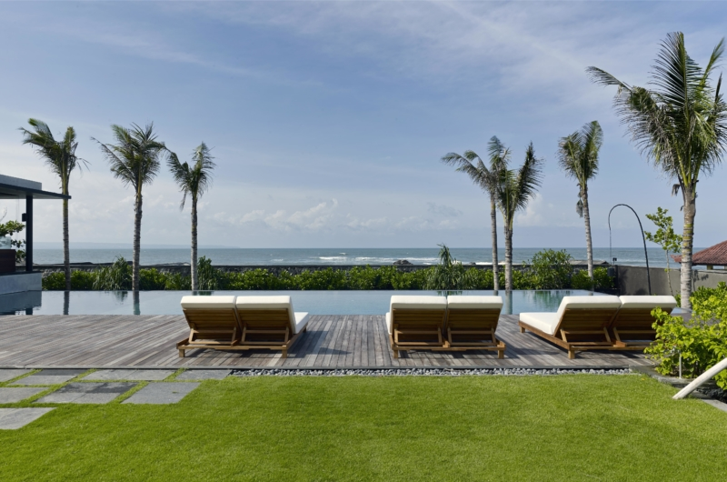 Pool Side Loungers - Arnalaya Beach House - Canggu, Bali