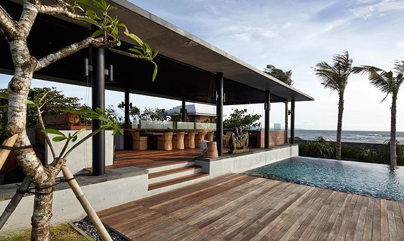 Pool Side - Arnalaya Beach House - Canggu, Bali