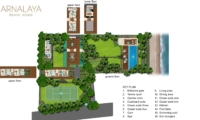 Floor Plan - Arnalaya Beach House - Canggu, Bali