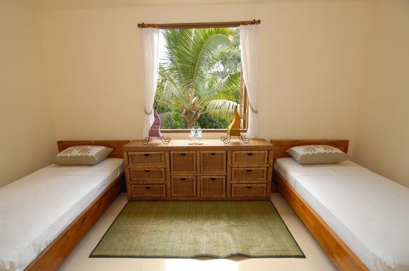 Twin Bedroom - Atas Awan Villa - Ubud, Bali