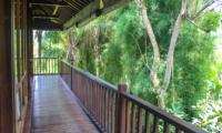 View from Balcony - Atas Awan Villa - Ubud, Bali