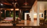 Indoor Living Area - Atas Awan Villa - Ubud, Bali