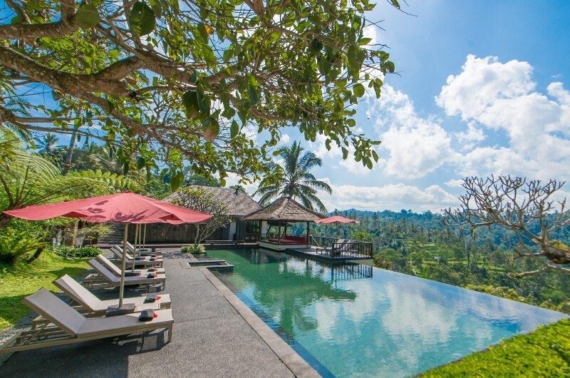 Swimming Pool - Awan Biru Villa - Ubud, Bali
