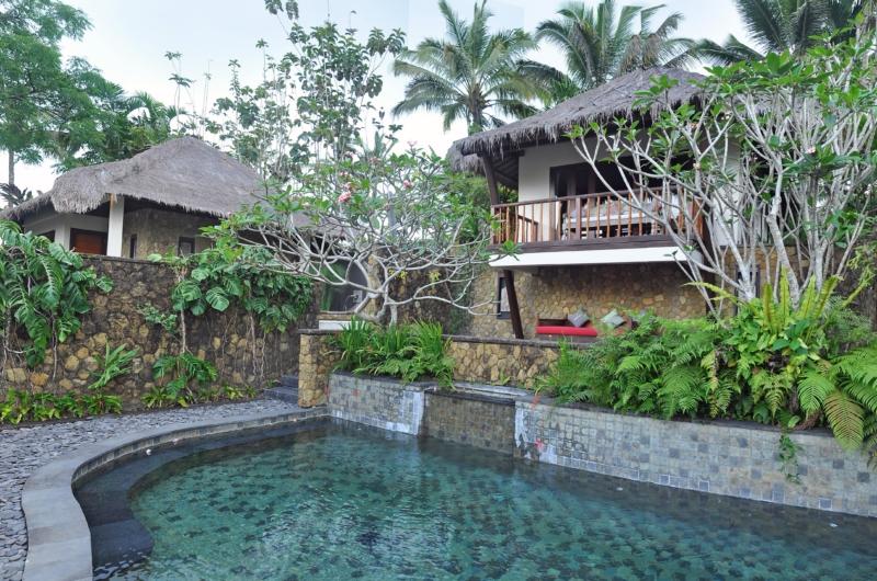 Pool Side - Awan Biru Villa - Ubud, Bali