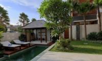 Pool Side - Bale Gede Villas - Batubelig, Bali