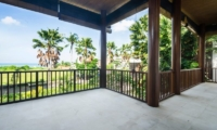 View from Balcony - Bale Gede Villas - Batubelig, Bali