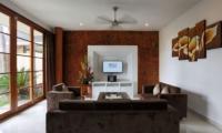 Family Area with TV - Bale Gede Villas - Batubelig, Bali