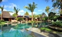 Pool Side - Bali Ethnic Villa - Umalas, Bali