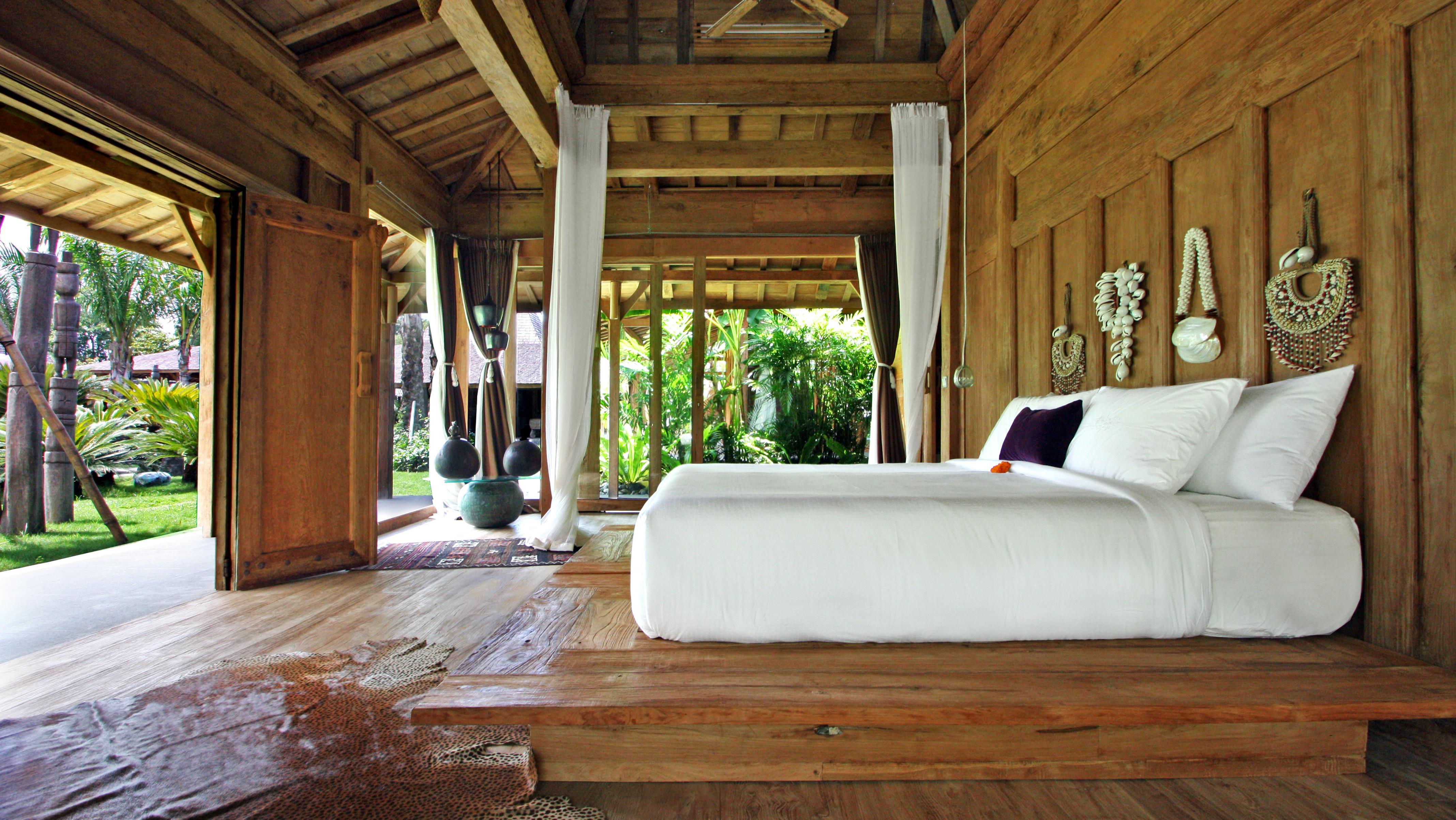 Bedroom with Garden View - Bali Ethnic Villa - Umalas, Bali