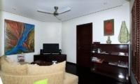 Lounge Area with TV - Bali Beach Pad - Seminyak, Bali