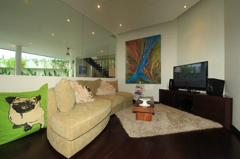Living Area with TV - Bali Beach Pad - Seminyak, Bali