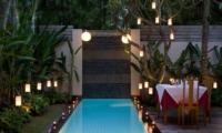 Pool Side Dining - Bali Island Villas - Seminyak, Bali