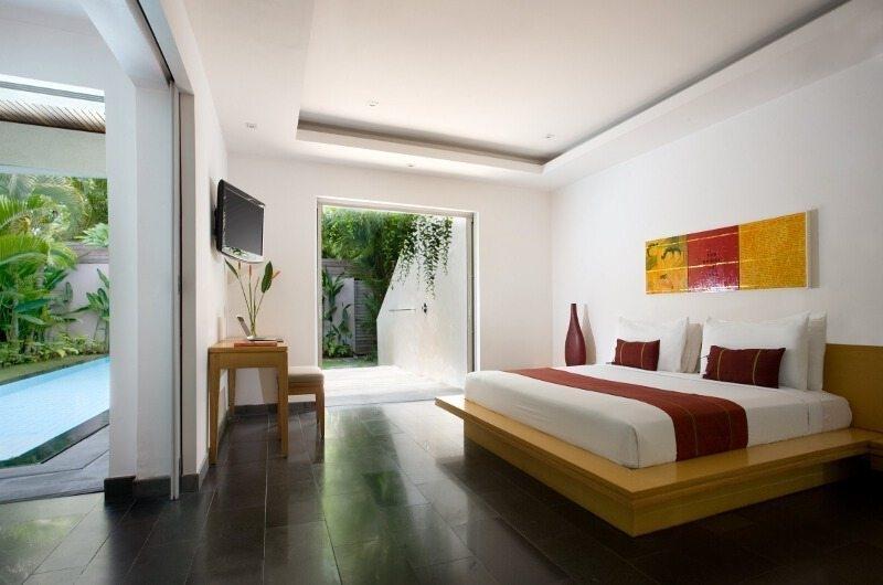 Bedroom with TV - Bali Island Villas - Seminyak, Bali