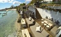 Seating Area near the Beach- Batu Karang Lembongan Resort - Nusa Lembongan, Bali
