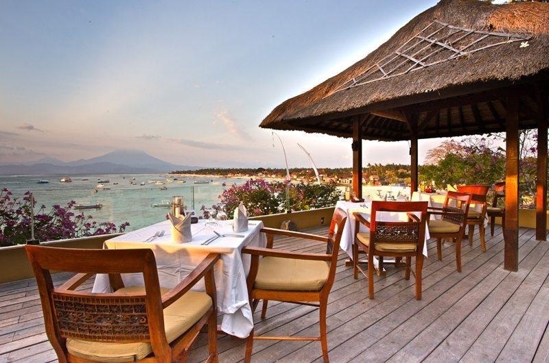 Romantic Dining - Batu Karang Lembongan Resort - Nusa Lembongan, Bali