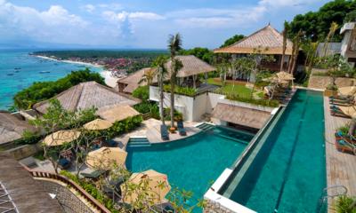 Gardens and Pool - Batu Karang Lembongan Resort - Nusa Lembongan, Bali