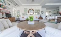 Family Area with TV - Beach Club Villa Bali - Canggu, Bali