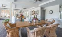 Indoor Living and Dining Area - Beach Club Villa Bali - Canggu, Bali